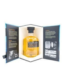 Balblair Highland Single Malt Scotch Whisky Vintage 2003 / 2015 12 Jahre 46 % 0,7 l