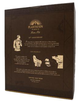 Plantation XO Rum 40 % 0,7 l mit 2 Tumblern