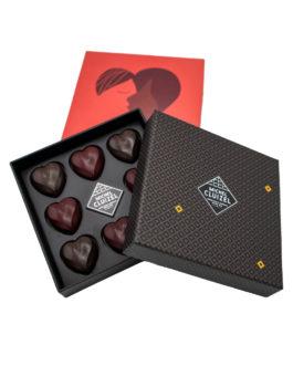 Schokoladeherzen von Michel Cluizel