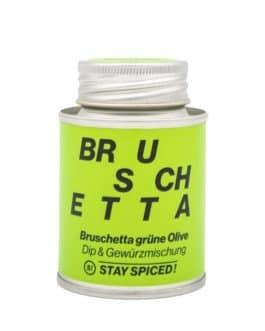 Bruschetta grüne Olive – Stay Spiced!