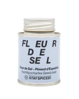 Fleur de Sel – Piment d'espelette – Stay Spiced!