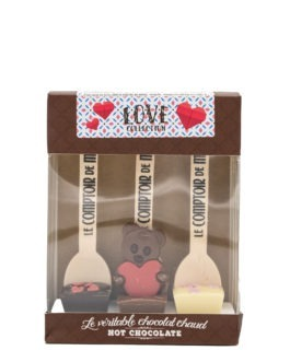 "Trinkschokolade am Stiel ""Love"" – 3er-Set"