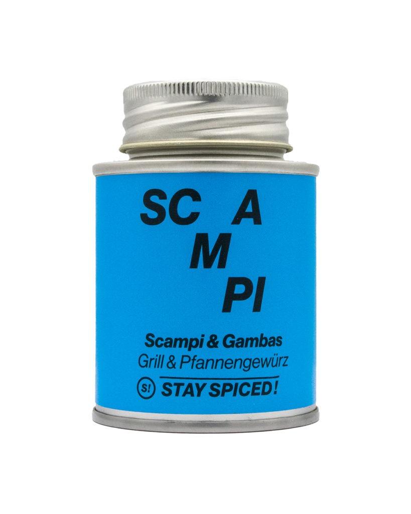Scampi und Gambas Stay Spiced
