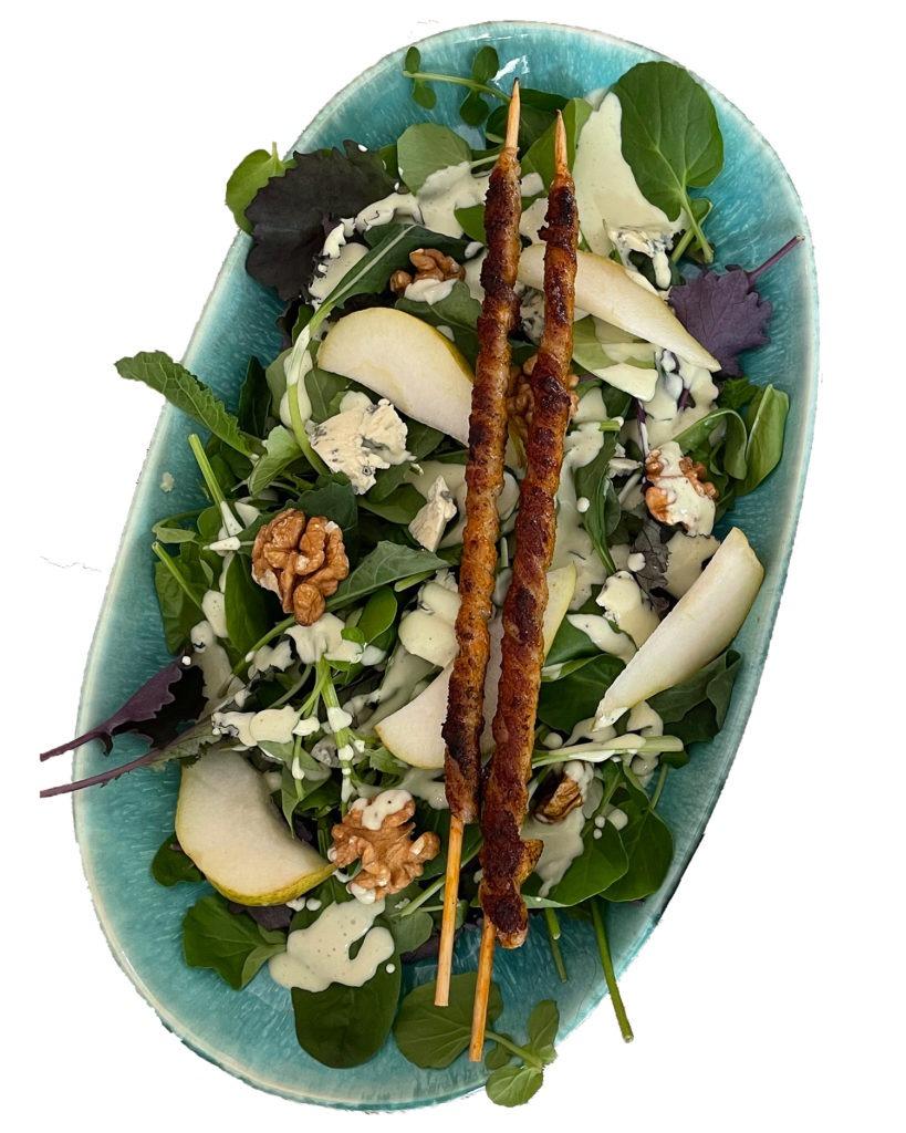 Salat mit Roquefort