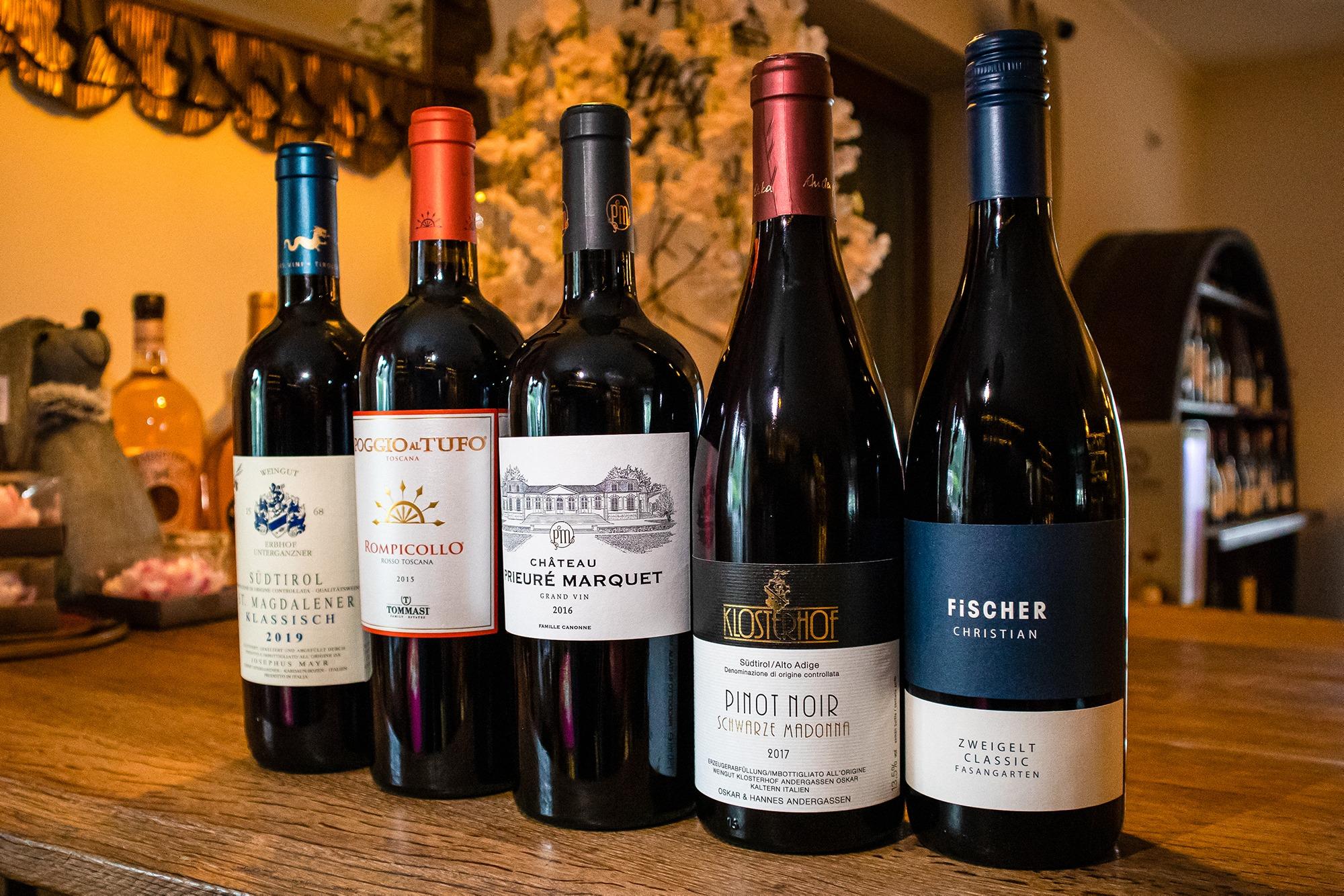 Read more about the article Der Geschmack von Rotwein – welche Aromen können wir schmecken?
