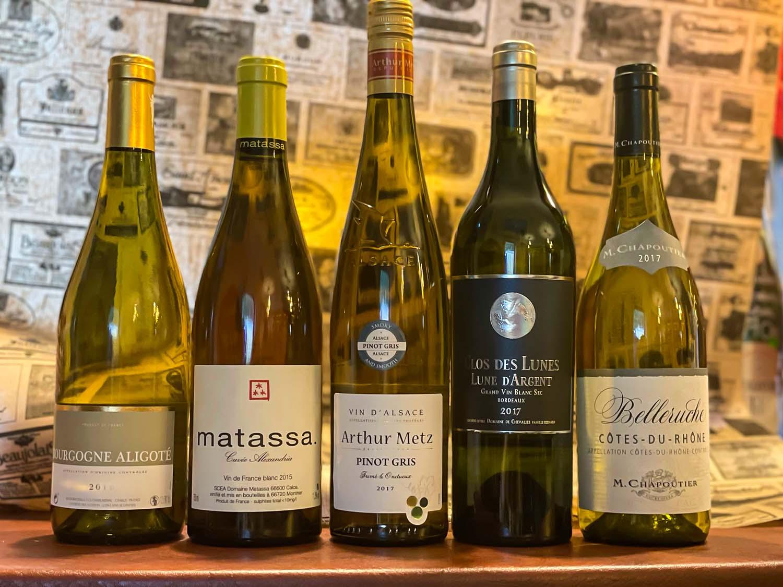 You are currently viewing Französischer Weißwein – 5 Weinbauregionen – 5 Weine