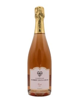 Rosé brut Champagner – Norbert Deux-Cœurs