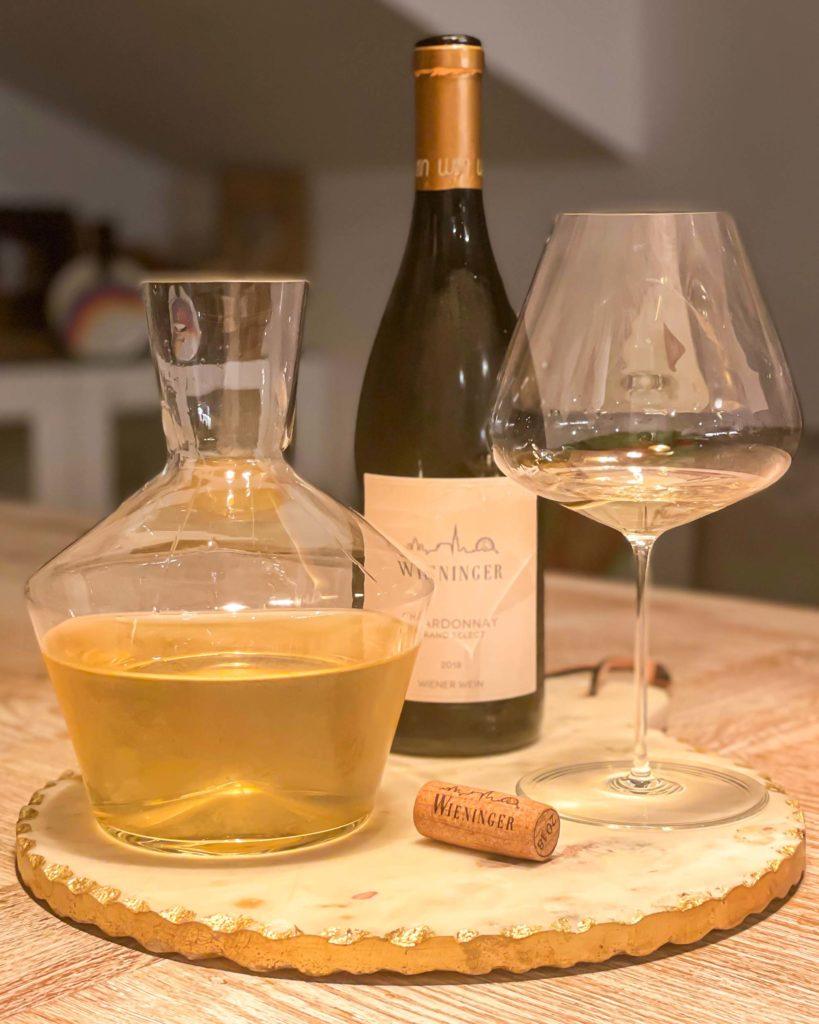 Weisswein dekantieren
